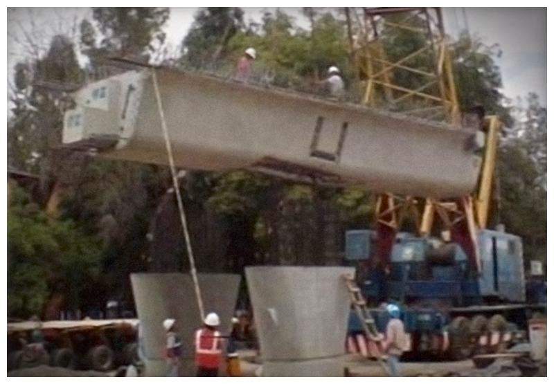 ITISA Puente la Virgen, puentes vehiculares elevados
